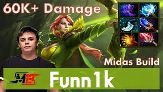 Funn1k - Windranger Offlane | Midas Build | 7.07 Update Patch Dota 2 Gameplay Pro MMR