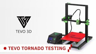 TEVO Tornado 3D Printer Unboxing and Assembly!