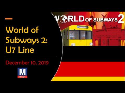 World of Subways 2 (Germany) [U7 Berlin Line]: 5:25 PM Train to Möckernbrücke |