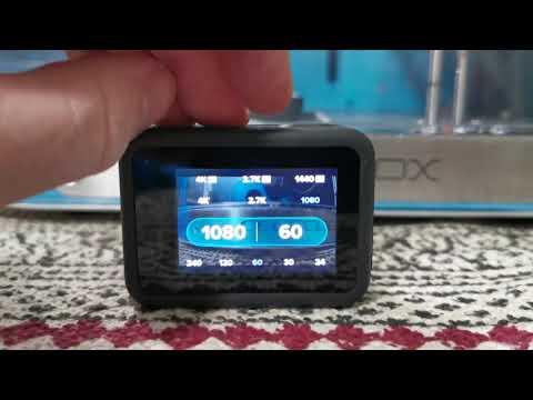 GoPro Hero8 Black interface quick look