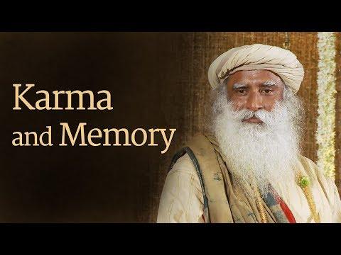 How Life runs by Memory – Karma by Sadhguru.