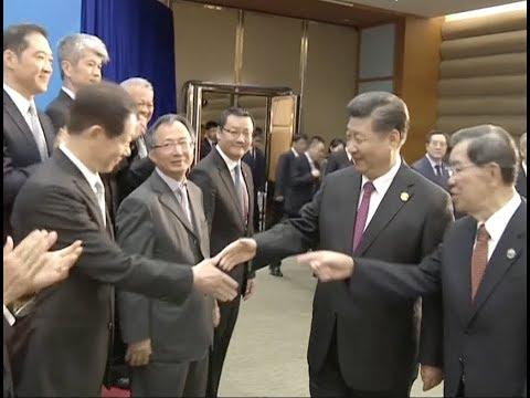 Boao2018: Xi Jinping Urges Taiwan Business Community to Promote Cross-Strait Peaceful Development