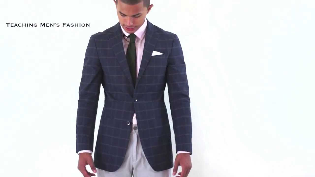 How a Blazer SHOULD Properly Fit - YouTube