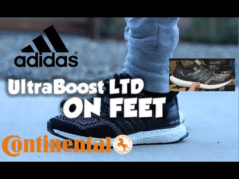 6936f718f134 ADIDAS X CONTINENTAL 3M ULTRA BOOST LTD REVIEW ON FEET - YouTube