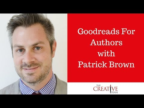 Goodreads For Authors with Patrick Brown