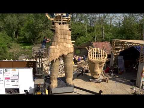 The Wicker Man, Oxford, Part 2 - The competition and build