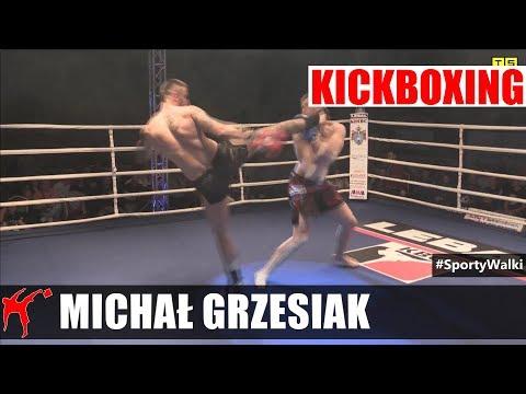 Walka K-1 93kg: Michał Grzesiak Brutalnie Nokautuje Radosława Kawczaka