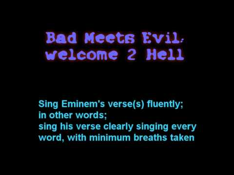 HD BASS BOOSTED: ROYCE DA 5'9 ft EMINEM WELCOME TO HELL from YouTube · Duration:  3 minutes 1 seconds