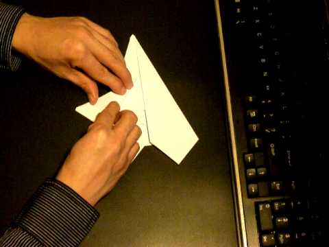 Flyable origami YF-23 Black Widow prototype by: Ken Hmoob
