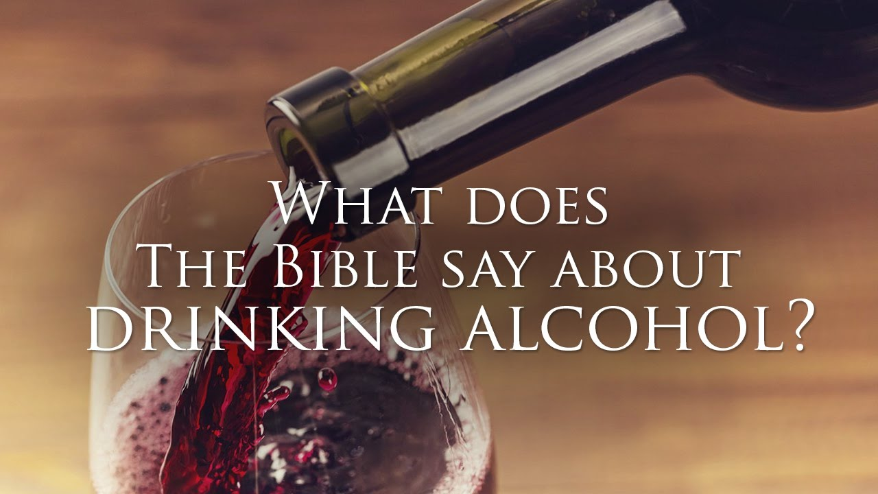 what does the bible say about wine and alcohol