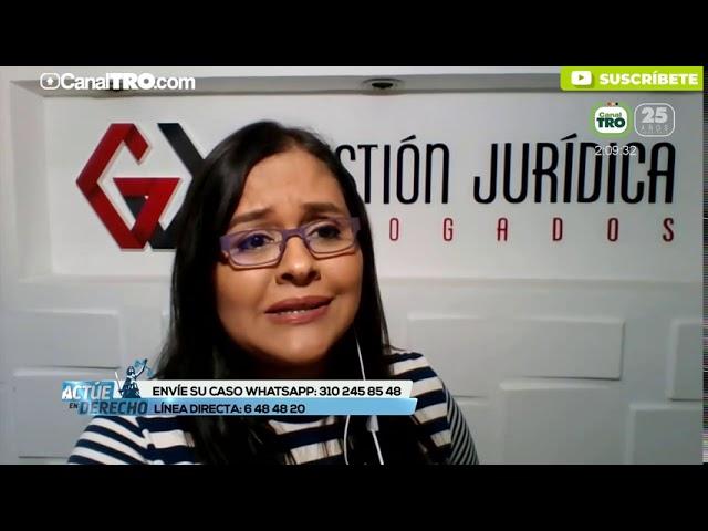 Asentamientos humanos - Actúe en derecho