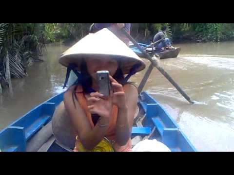 Du thuyền Mekông