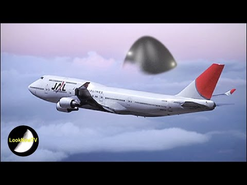AMAZING Russian UFO Case! Giant UFO Follows Japanese Airliner!