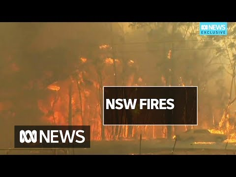 Bushfires Destroy Homes On Sydney's Outskirts As Temperatures Soar Past 41C | ABC News