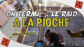 RUST FR-ON RAID LEUR BASE A LA PIOCHE!