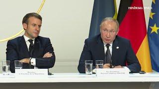 Зеленський і Путін про контроль над кордоном і російськомовних українців