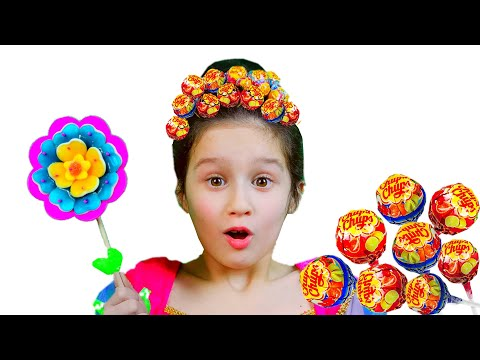Hairstyle Chupa Chups Lollipops // تسريحة جميلة للشعر By Alice And TOYS // Funny Videos