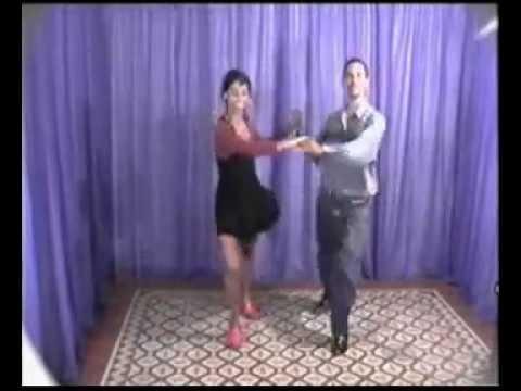 Видео-уроки сальсы от кубинцев - Salsa a la Cubana, часть 2