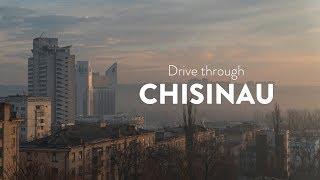 A drive through Chisinau [Drivelapse. Moldova]