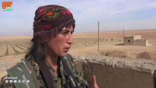 غرفة الأخبارسياسة  مقاتلات كرديات يثأرن من داعش في الرقة