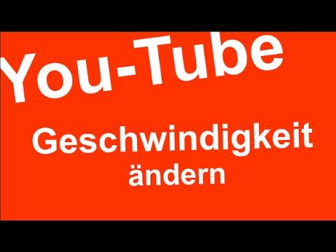 Youtube Geschwindigkeit ändern So Macht Es Papae Youtube