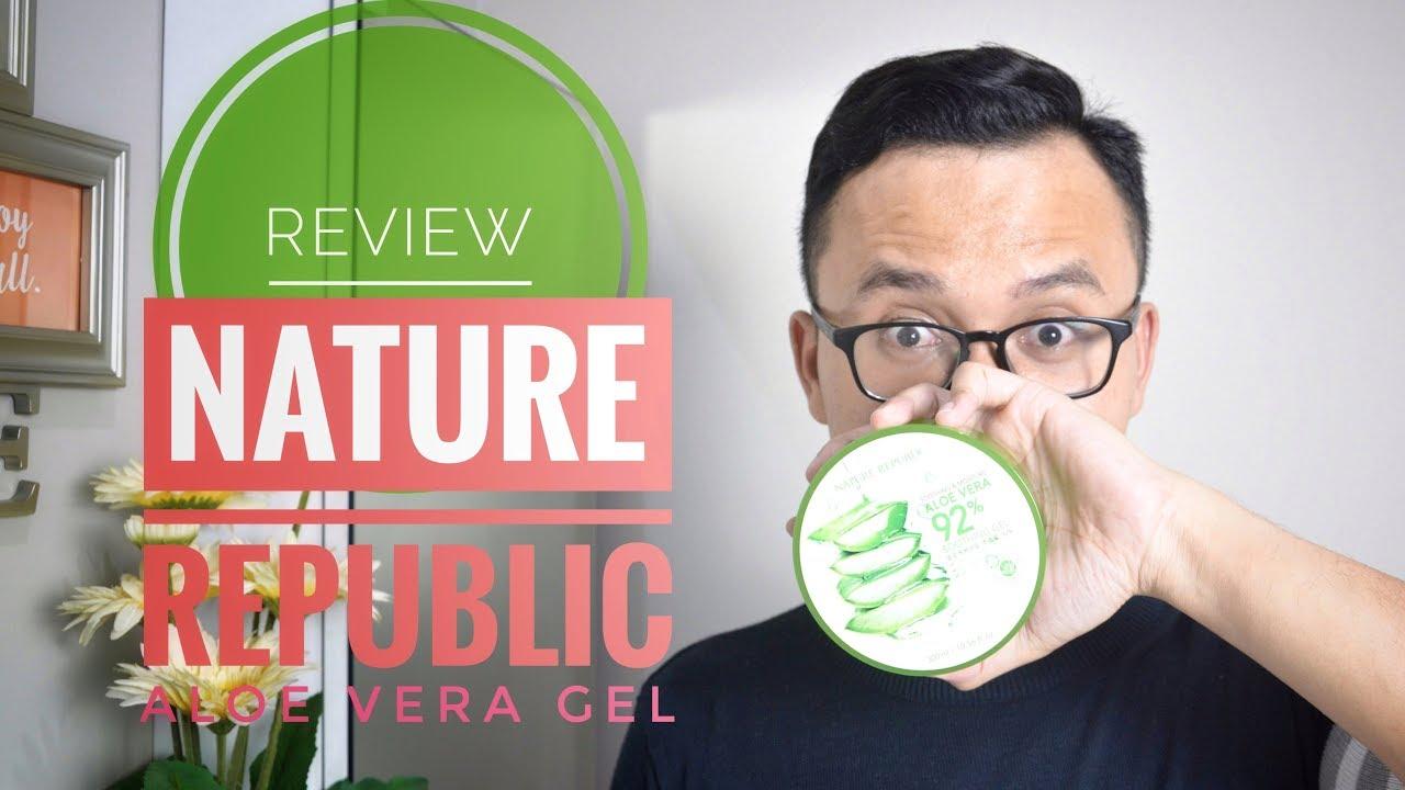 Aloe Vera Nature Republic Untuk Bekas Jerawat