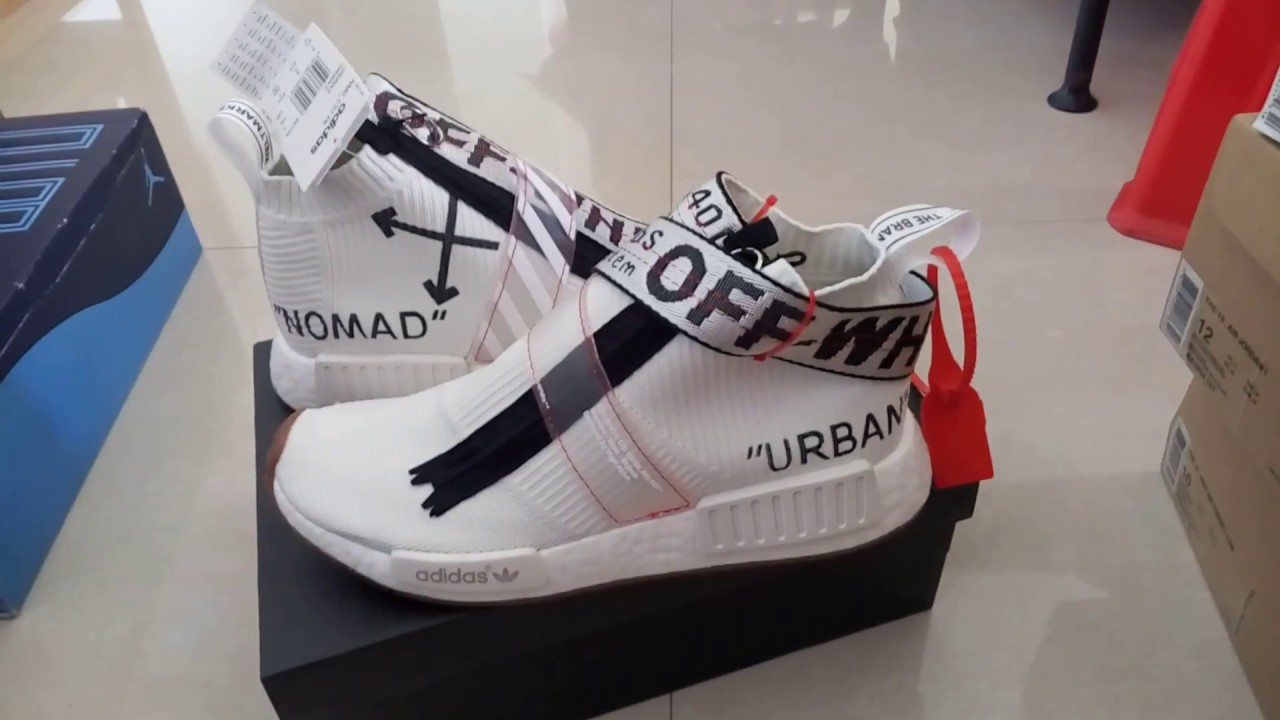391688d04 OFF-WHITE x Adidas NMD City Sock - YouTube