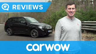 bMW X3 SUV 2014-2017 in-depth review  Mat Watson Reviews