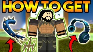 AQUAMAN EVENT ON ROBLOX BOOGA BOOGA!? (HOW TO GET 2 FREE ITEMS!)