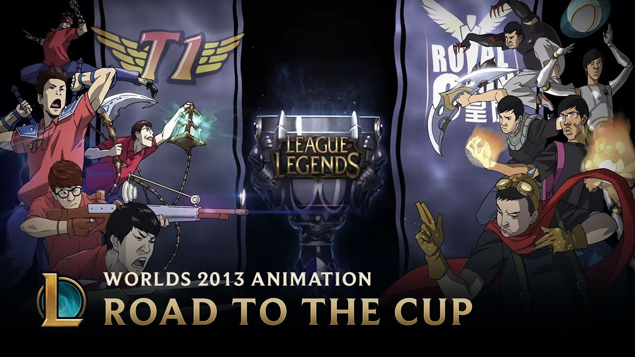 Animate Esports Wallpaper Gaming: Road To The Cup: World Championship 2013