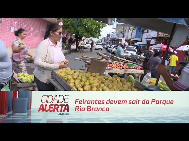 Feirantes devem sair do Parque Rio Branco para ordenamento - 13/08/2019