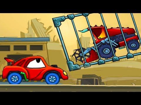 Машина ест машину 2 мультфильм