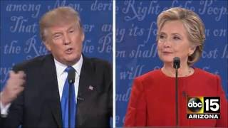 Head to Head over Birther drama - Presidential Debate - Donald Trump vs. Hillary Clinton
