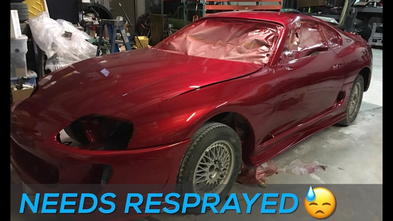 What happens next with Supra paint - YouTube