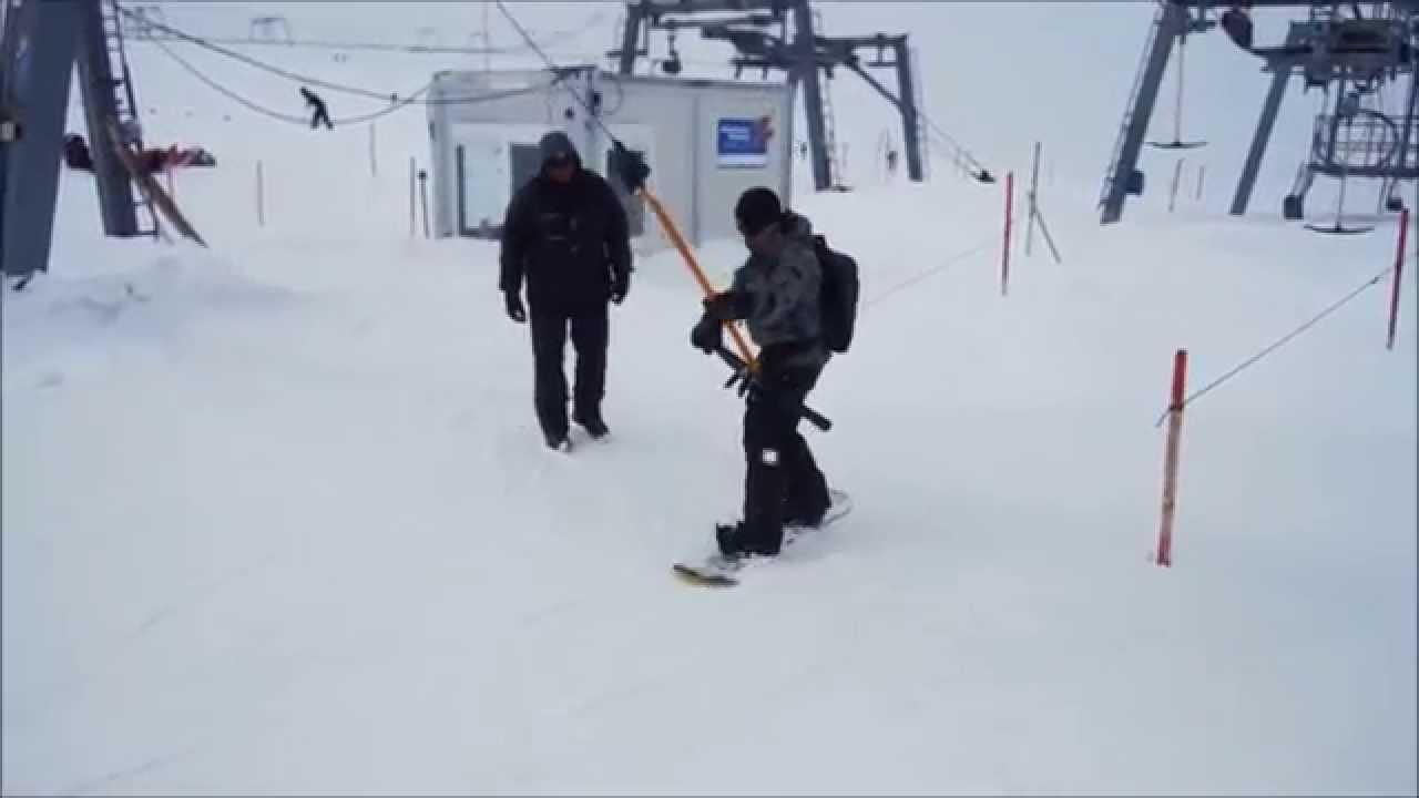 Big Mountain Snowboard Surface Lift Adapter T Bar Lifts