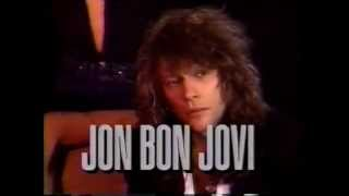 Bon Jovi - Concert Footage (Red Bank 1990)