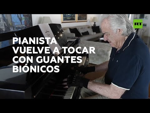 RT en Español: Vuelve a tocar el piano gracias a unos guantes biónicos I RT Play