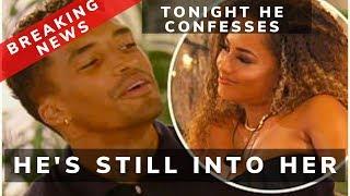 SPOILER- Michael tells Amber tonight he still has feelings for her LOVE ISLAND
