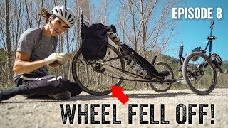 WHEEL FELL OFF WHILST RIDING! - London2Africa Episode 8