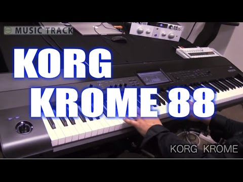 KORG KROME Demo&Review [English Captions]