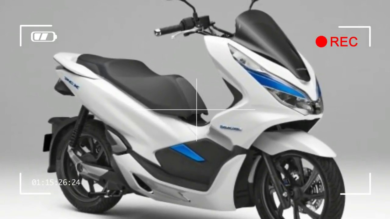 Honda PCX Scooter Goes Hybrid And Electric
