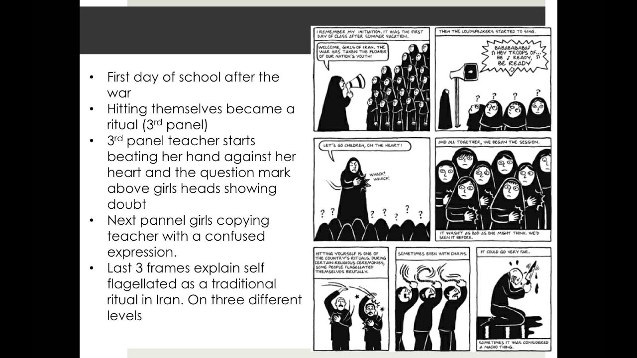 Persepolis Chapter Review The Key Youtube
