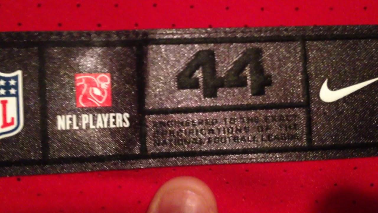 size 40 947d2 1818c New Nike Vapor Untouchable Elite 49ers jersey review