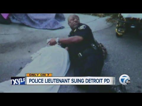 Police Lieutenant Suing Detroit Police Department