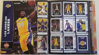100% Complete Panini 2017-18 NBA sticker collection