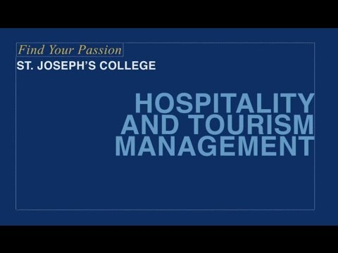 Find Your Passion: Hospitality and Tourism Management at SJCNY