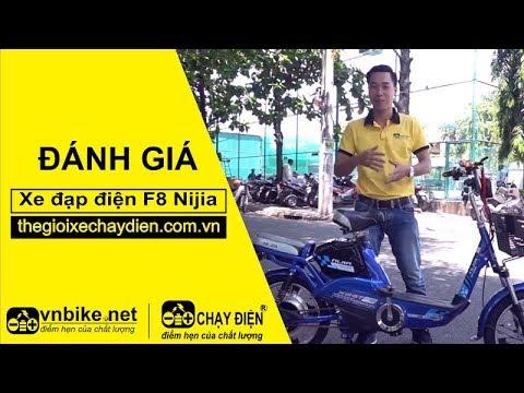 Đánh giá xe đạp điện F8 Nijia
