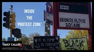 Look Inside The 'Protest Zone' Set Up Where George Floyd Died