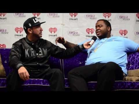 Sean Kingston speaks on Chris Brown's recent altercation & Justin Bieber - KGGI interview