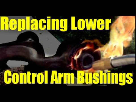 Fire Replacing Lower Control Arm Bushings 1993 Lexus